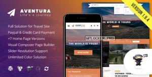 Aventura v1.9.4 – Travel & Tour Booking System Theme