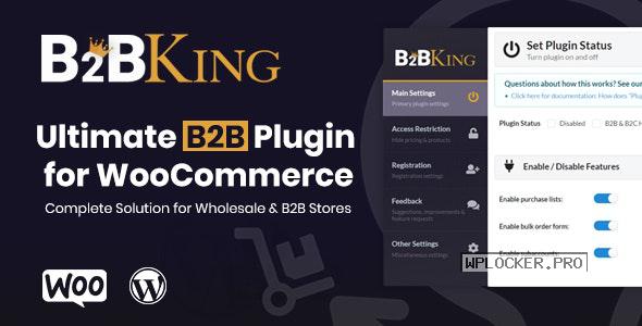 B2BKing v2.6.5 – The Ultimate WooCommerce B2B & Wholesale Plugin