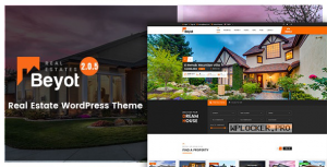 BEYOT v2.0.5 – WordPress Real Estate Theme