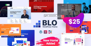 BLO v2.7 – Corporate Business WordPress Theme