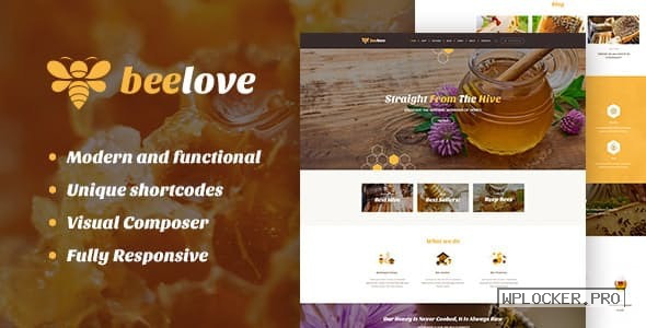 Beelove v1.2.4 – Honey Production and Sweets Online Store WordPress Theme