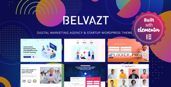 Belvazt v1.2.47 – Digital Marketing Agency WordPress Theme