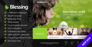 Blessing v1.6.1.4 – Responsive Theme for Church Websites