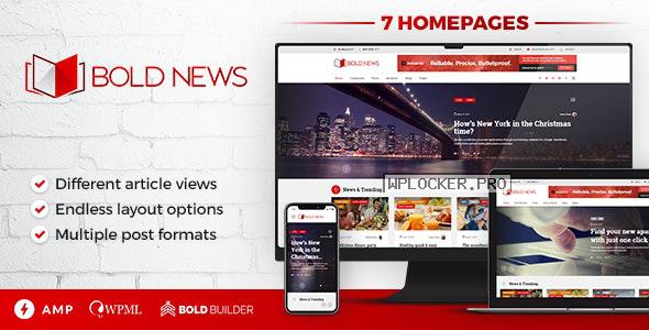 Bold News v1.4.8 – Magazine News Newspaper