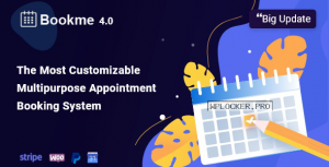 Bookme v4.2.1 – WordPress Appointment Booking Scheduling Plugin