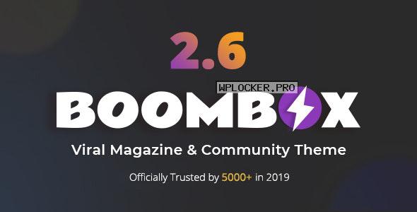 BoomBox v2.7.1 – Viral Magazine WordPress Theme