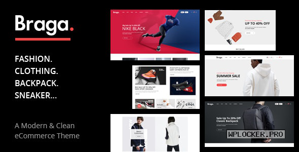 Braga v1.0.2 – Fashion Theme for WooCommerce WordPress