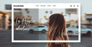 Brookside v1.2.7 – Personal WordPress Blog Theme
