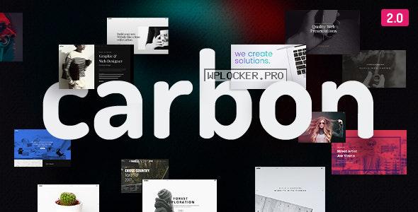 Carbon v2.7.3 – Clean Minimal Multipurpose Theme