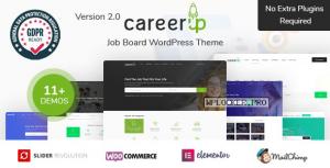 CareerUp v2.3.10 – Job Board WordPress Theme
