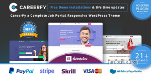 Careerfy v5.0.0 – Job Board WordPress Theme