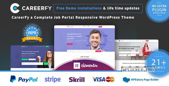 Careerfy v5.0.0 – Job Board WordPress Theme