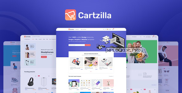 Cartzilla v1.0.8 – Digital Marketplace & Grocery Store WordPress Theme