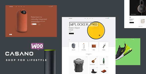 Casano v1.0.7 – WooCommerce Theme For Accessories & Life Style