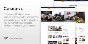 Cascara v1.7 – Blog, News & Magazine WordPress Theme