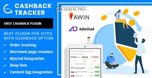 Cashback Tracker v1.5.1 – WordPress Plugin