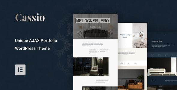 Cassio v2.3.0 – AJAX Portfolio WordPress Theme