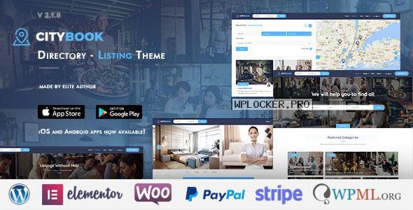 CityBook v2.4.5 – Directory & Listing WordPress Theme