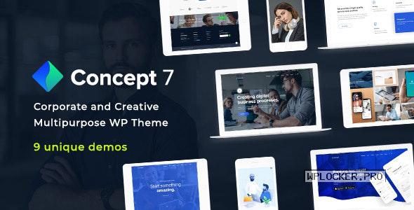 Concept Seven v1.10 – Responsive Multipurpose Theme