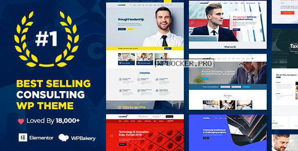 Consulting v5.2.2 – Business, Finance WordPress Theme