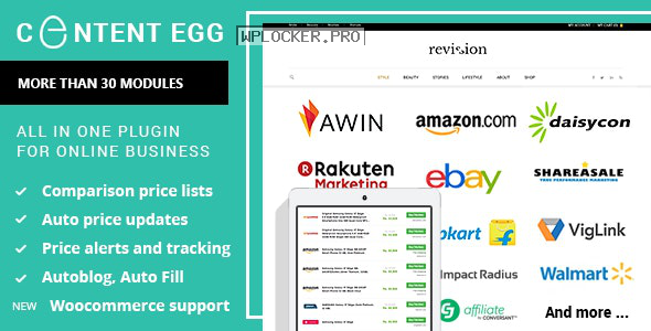 Content Egg v8.1.0 – all in one plugin for Affiliate
