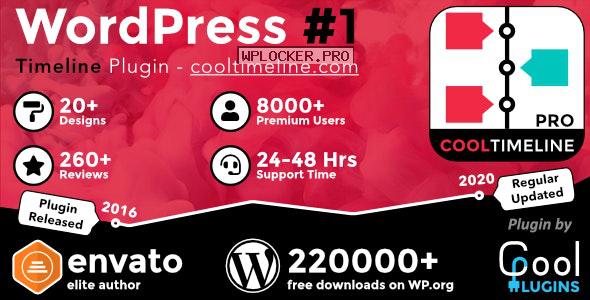 Cool Timeline Pro v3.5.1 – WordPress Timeline Plugin