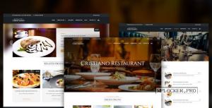 Cristiano Restaurant v3.9.2.9 – Cafe & Restaurant Theme