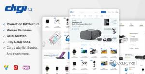 Digi v1.5.8 – Electronics Store WooCommerce Theme