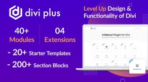 Divi Plus v1.6.0 – 41 Powerful Modules for Divi Theme