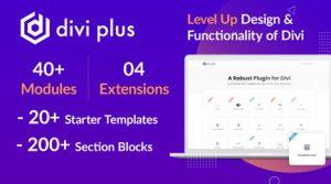 Divi Plus v1.6.2 – 41 Powerful Modules for Divi Theme
