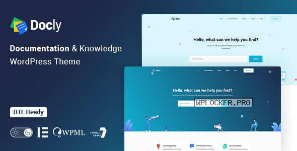 Docly v1.2.4 – Documentation And Knowledge Base WordPress Theme