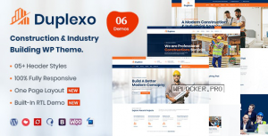 Duplexo v2.1 – Construction Renovation WordPress Theme
