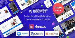 EduMall v1.1.0 – Professional LMS Education Center WordPress Theme