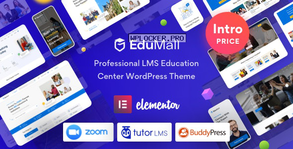 EduMall v1.1.0 – Professional LMS Education Center WordPress Theme