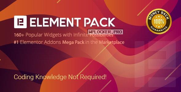Element Pack v5.6.1 – Addon for Elementor Page Builder
