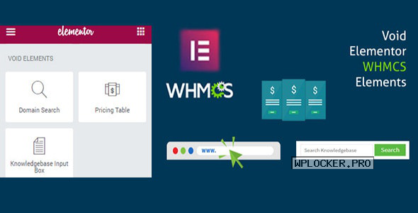 Elementor WHMCS Elements Pro For Elementor Builder v3.0
