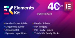 ElementsKit v2.0.5 – The Ultimate Addons for Elementor Page Builder