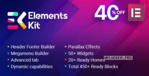 ElementsKit v2.0.6 – The Ultimate Addons for Elementor Page Builder