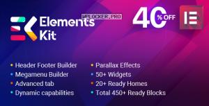 ElementsKit v2.1.0 – The Ultimate Addons for Elementor Page Builder