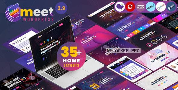 Emeet v2.9.0 – Event, Conference & Meetup WordPress Theme