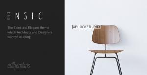 Engic v2.3 – A Sleek Multiuse Responsive WordPress Theme