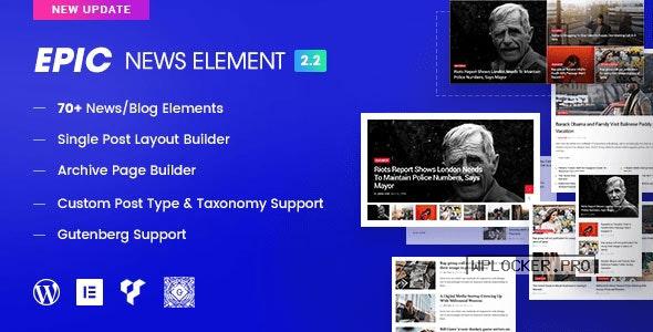 Epic News Elements v2.3.1