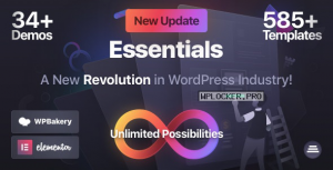 Essentials v1.2.1 – Multipurpose WordPress Theme