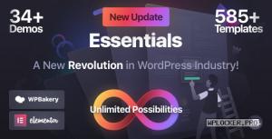 Essentials v1.2.2 – Multipurpose WordPress Theme