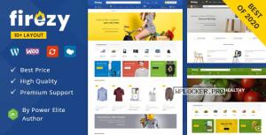 Firezy – Multipurpose WooCommerce Theme (18 Dec 2020)