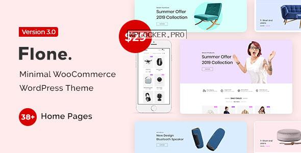 Flone v3.0.1 – Minimal WooCommerce WordPress Theme