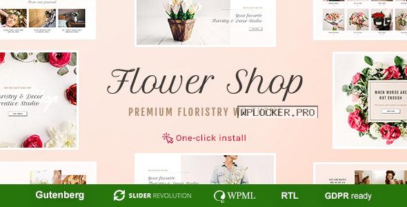 Flower Shop v1.1.1 – Florist Boutique & Decoration Store WordPress Theme