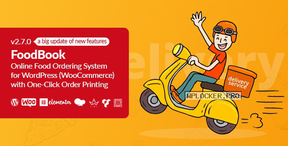 FoodBook v2.7.0 – Online Food Ordering System for WordPress with One-Click Order Printing
