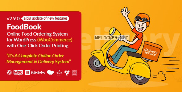 FoodBook v2.9.0 – Online Food Ordering System for WordPress with One-Click Order Printing