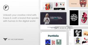 Fraxos v1.7.4 – Creative Portfolio WordPress Theme